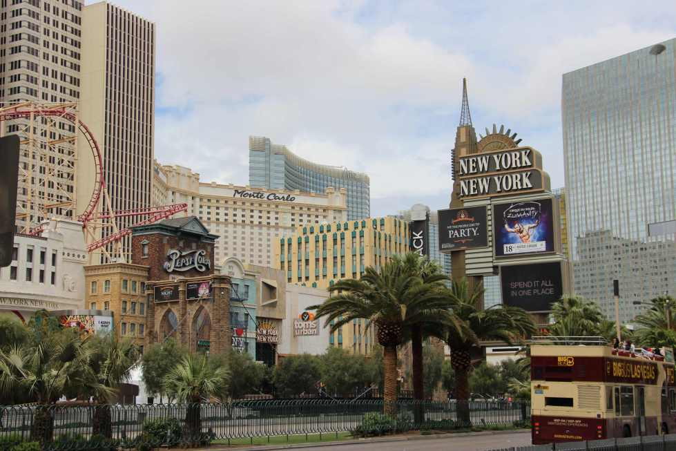 Part of the Vegas Strip (photo by Danceclubgirl)