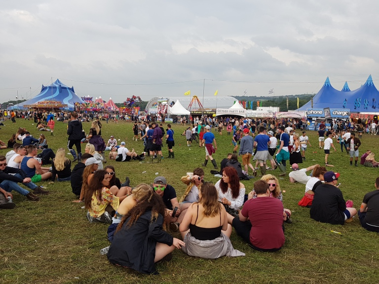 Creamfields music festival in 2016 (photo by danceclubgirl)
