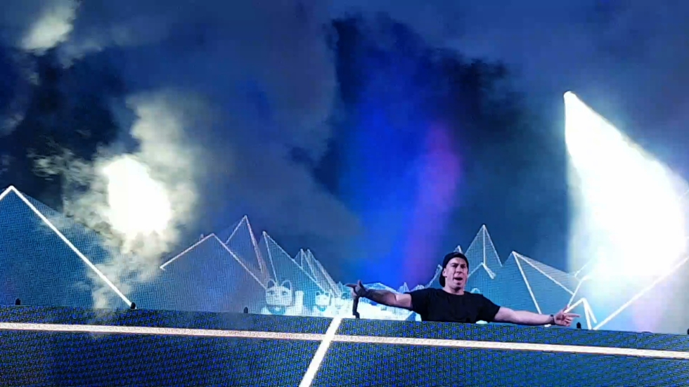 Hardwell at Creamfields on Aug. 28, 2016 (photo by Danceclubgirl)