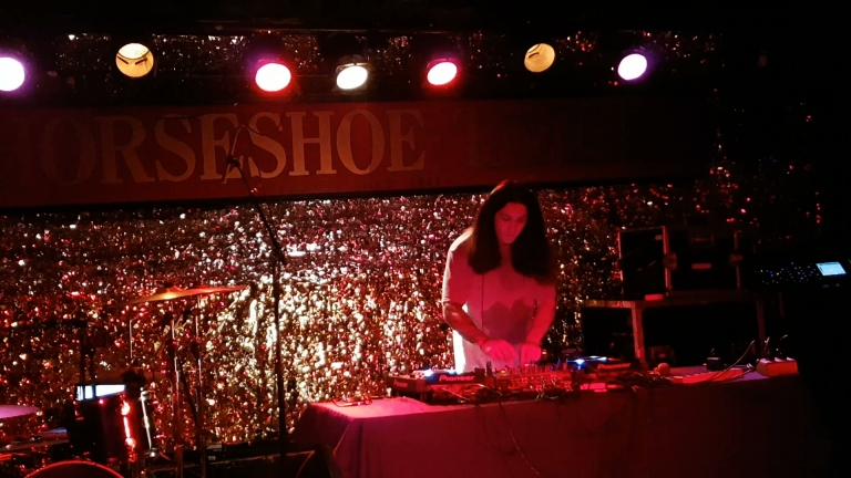 Grabbitz at the Horseshoe Tavern on Sept. 30, 2016 (photo by Danceclubgirl).